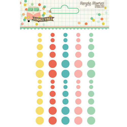 Simple Stories Enamel Dots