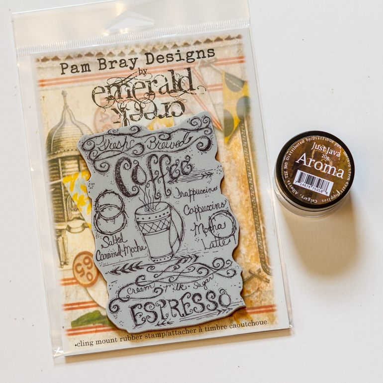 Emerald Creek stamps and embossing powders / scented embossing powders / Pam Bray Designs
