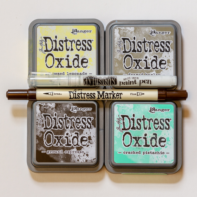 Ranger Distress Oxides / Distress markers / Dylusions paint pen