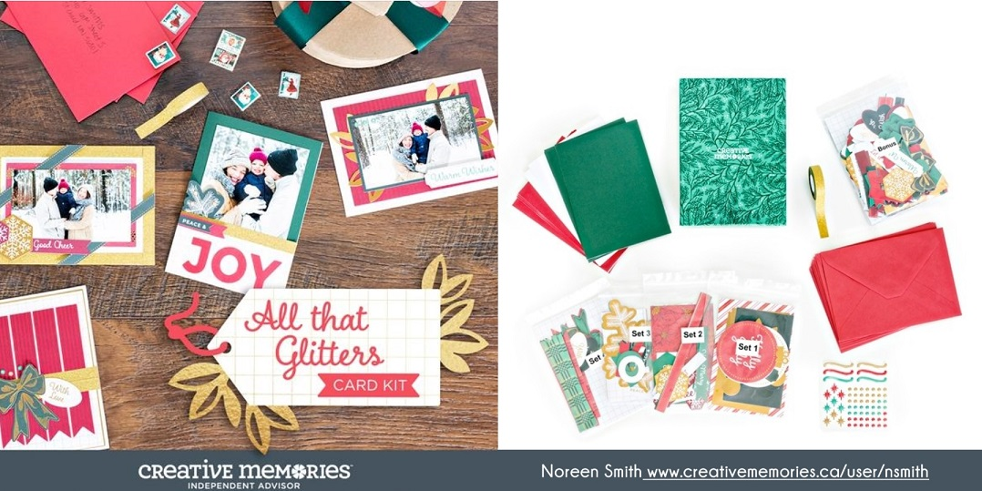All That Glitters Card Kit by Creative Memories | Creative Scrapbooker Magazine