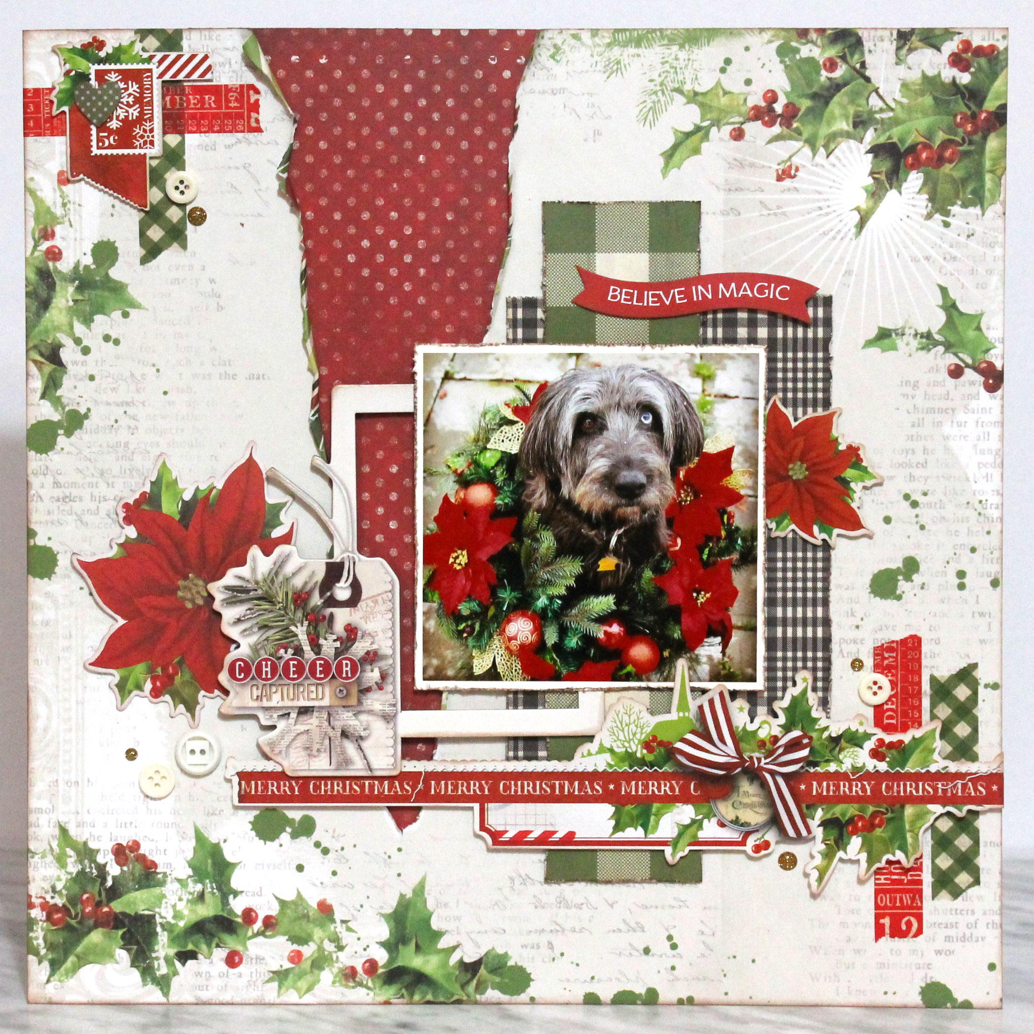 Simple Vintage Christmas Collection by Simple Stories | Creative Scrapbooker Magazine
