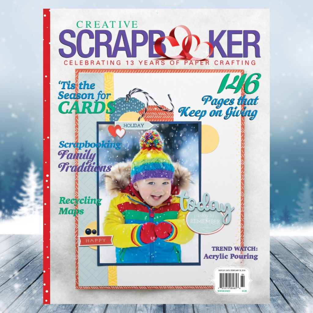 Creative Scrapbooker Magazine winter issue / 2018-2019