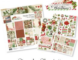 Simple Vintage Christmas Collection by Simple Stories | Creative Scrapbooker Magazine Giveaway