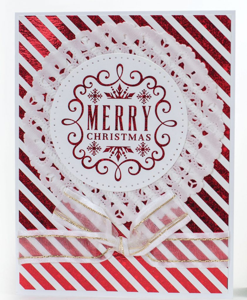 "Gina K HolidayCheer Designs for Therm O Web Foil-Mates Holiday 5/"" x 8 5 5/"""