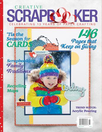 Winter 2018 Cover Creative Scrapbooker Magazine