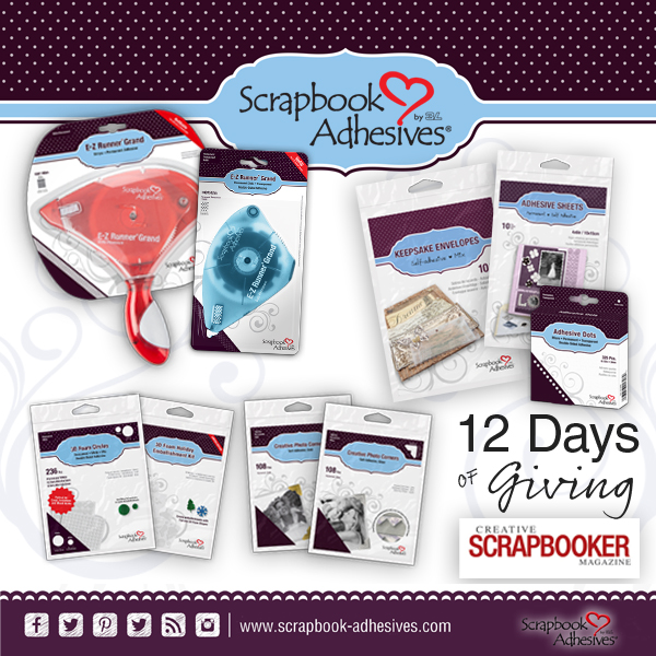 Scrapbook Adhesives by 3L 12 Days of Giving Prize Package | Creative Scrapbooker Magazine