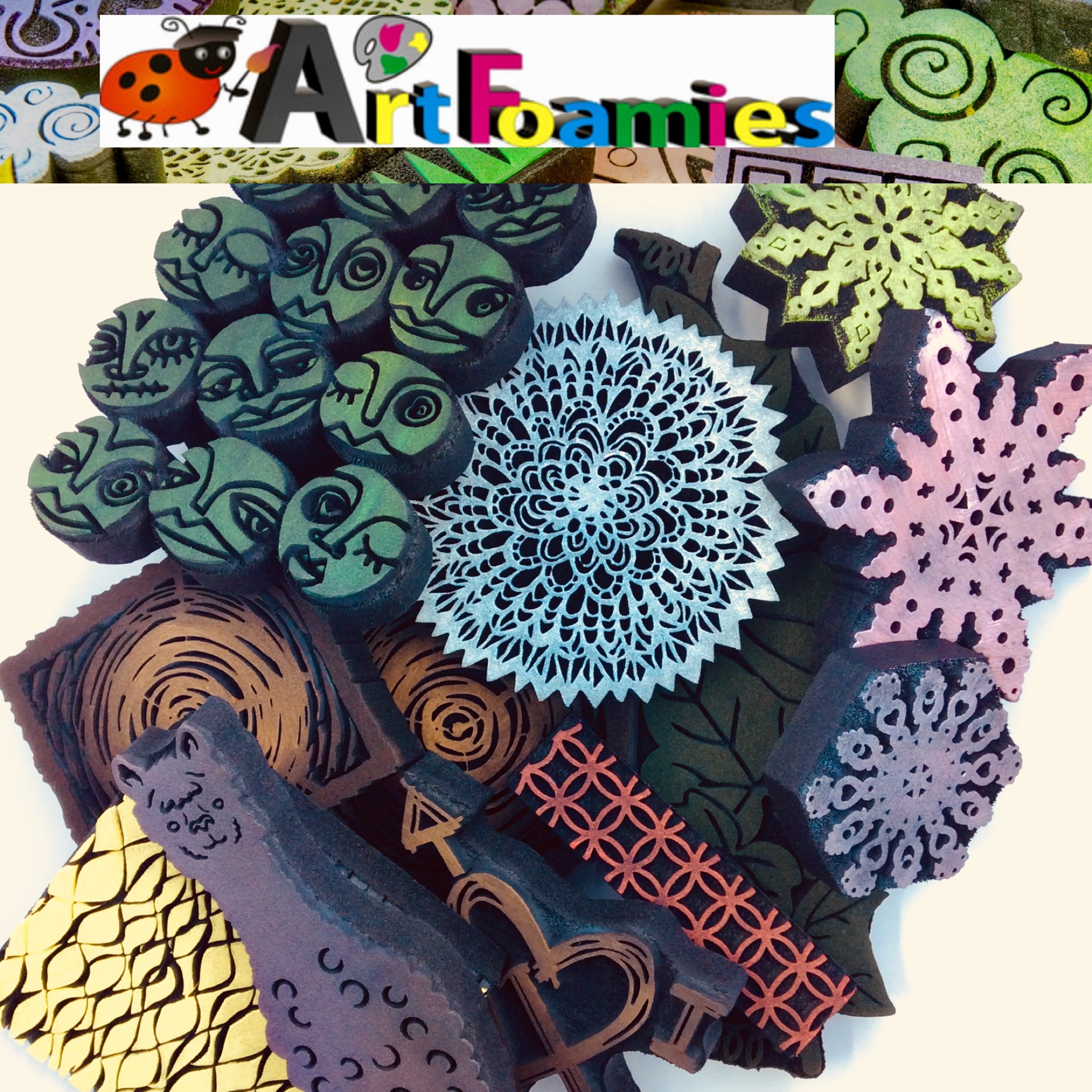 Art Foamies Prize Package 12 Days of Giving | Creative Scrapbooker Magazine