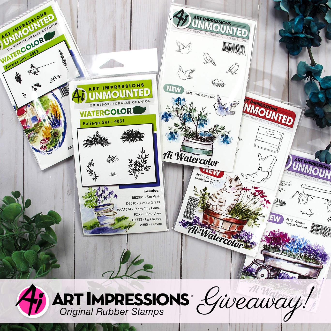 Art Impressions Prize Package for 12 Days of Giving | Creative Scrapbooker Magazine