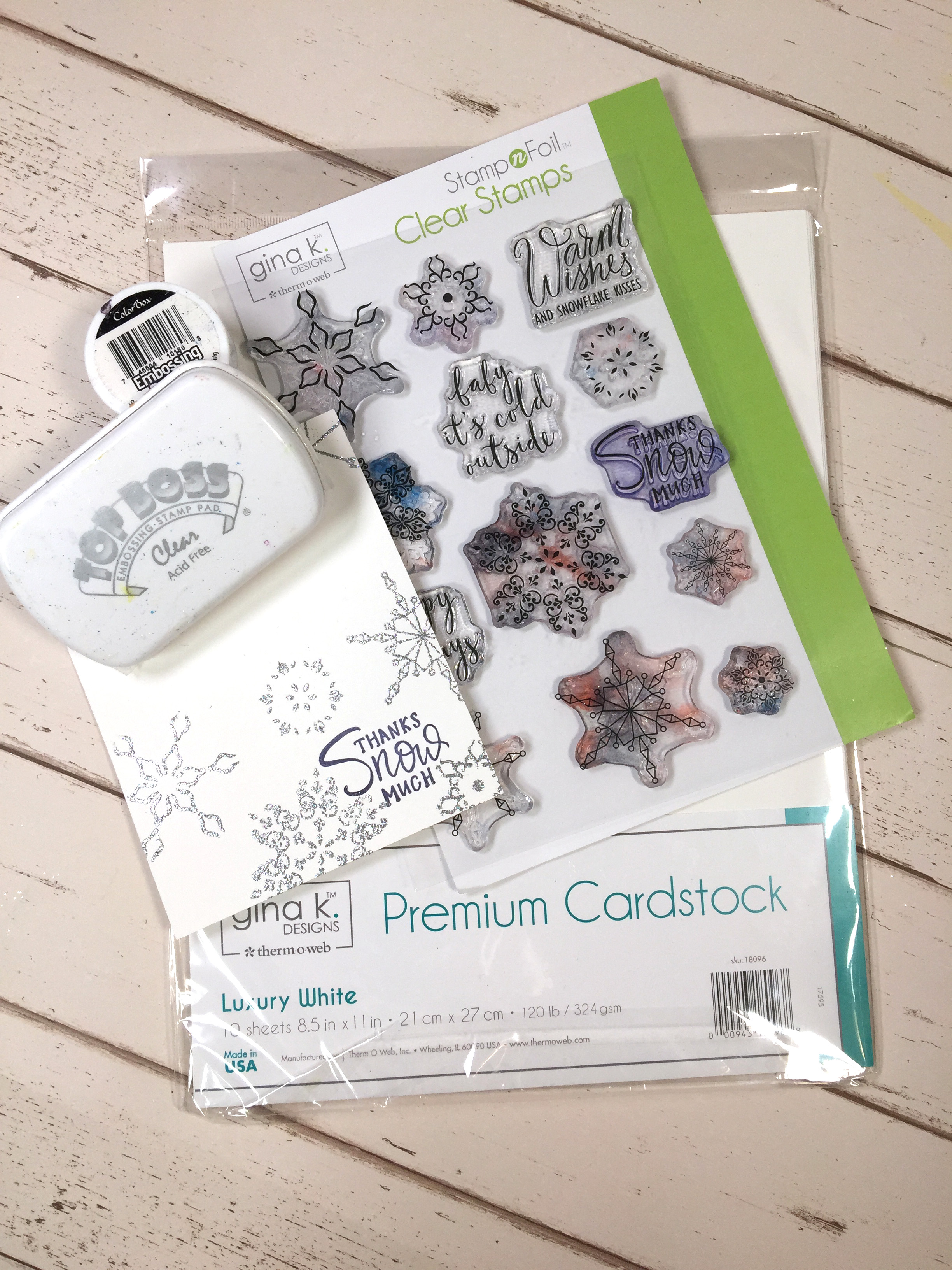 Christmas SHAKER card designed by Kerry Engel featuring Therm O Web   Creative Scrapbooker Magazine