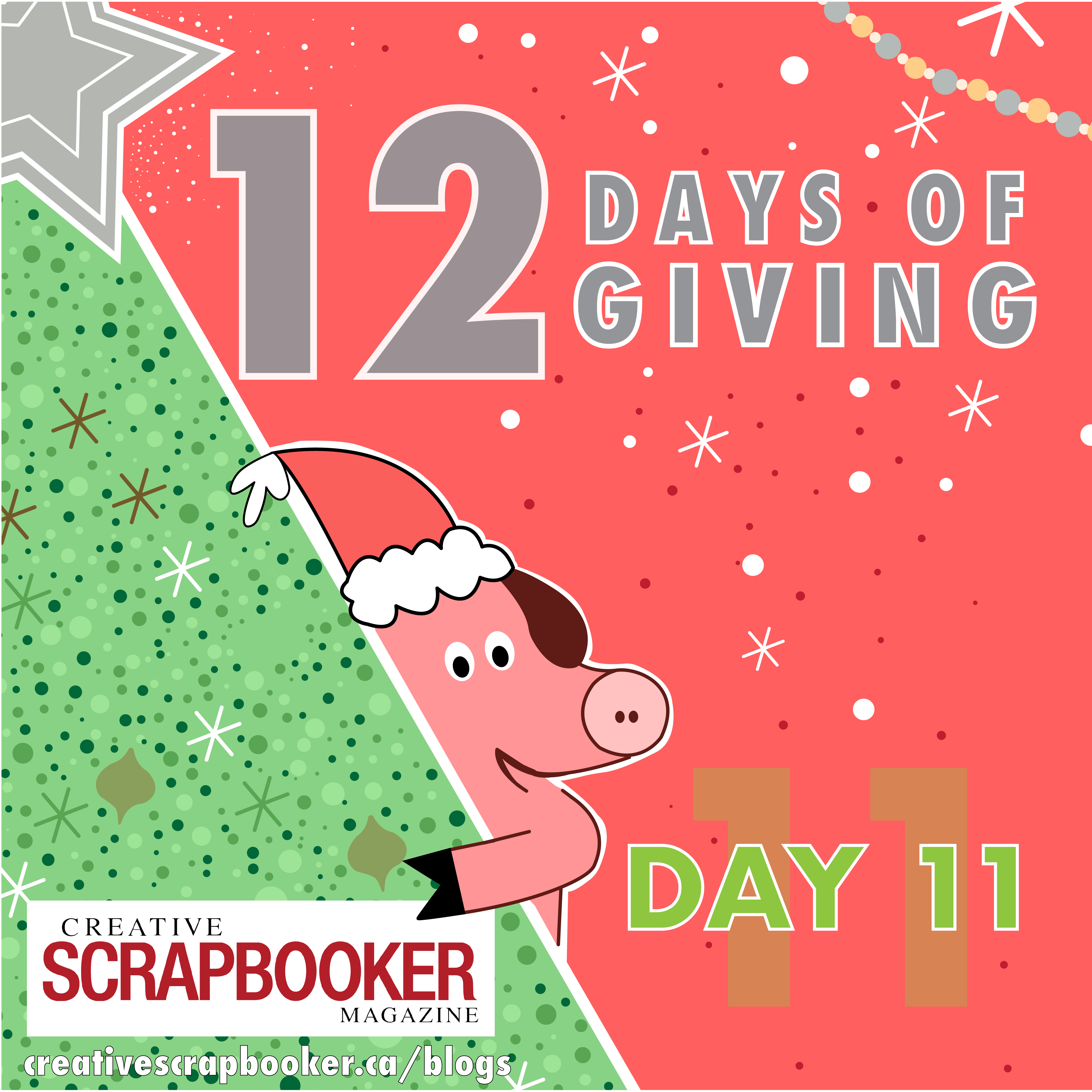 Day 11 of 12 Days of Giving | Creative Scrapbooker Magazine