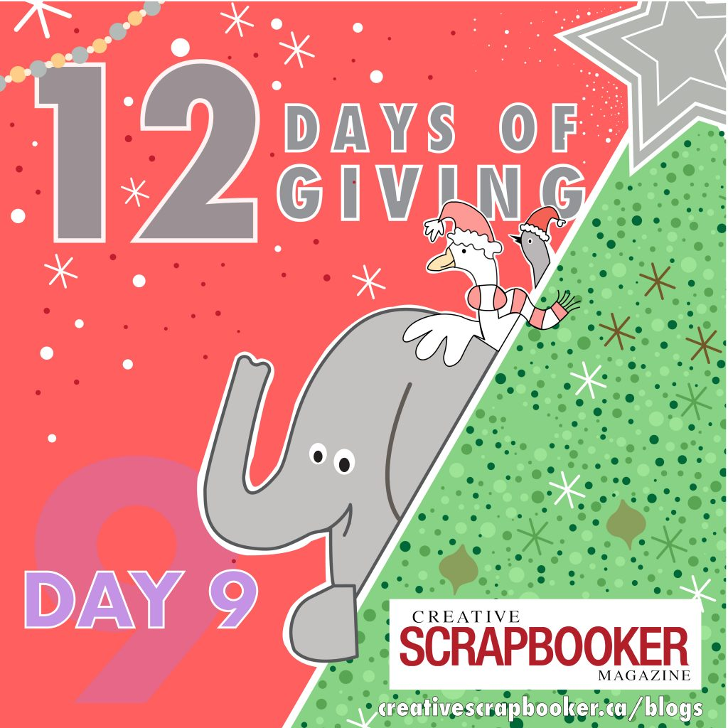 Day 9 of 12 Days of Giving | Creative Scrapbooker Magazine