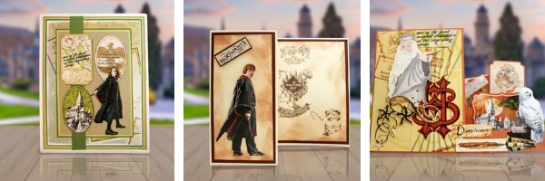 Ecstasy Crafts Harry Potter Handmade Cards | Creative Scrapbooker Magazine