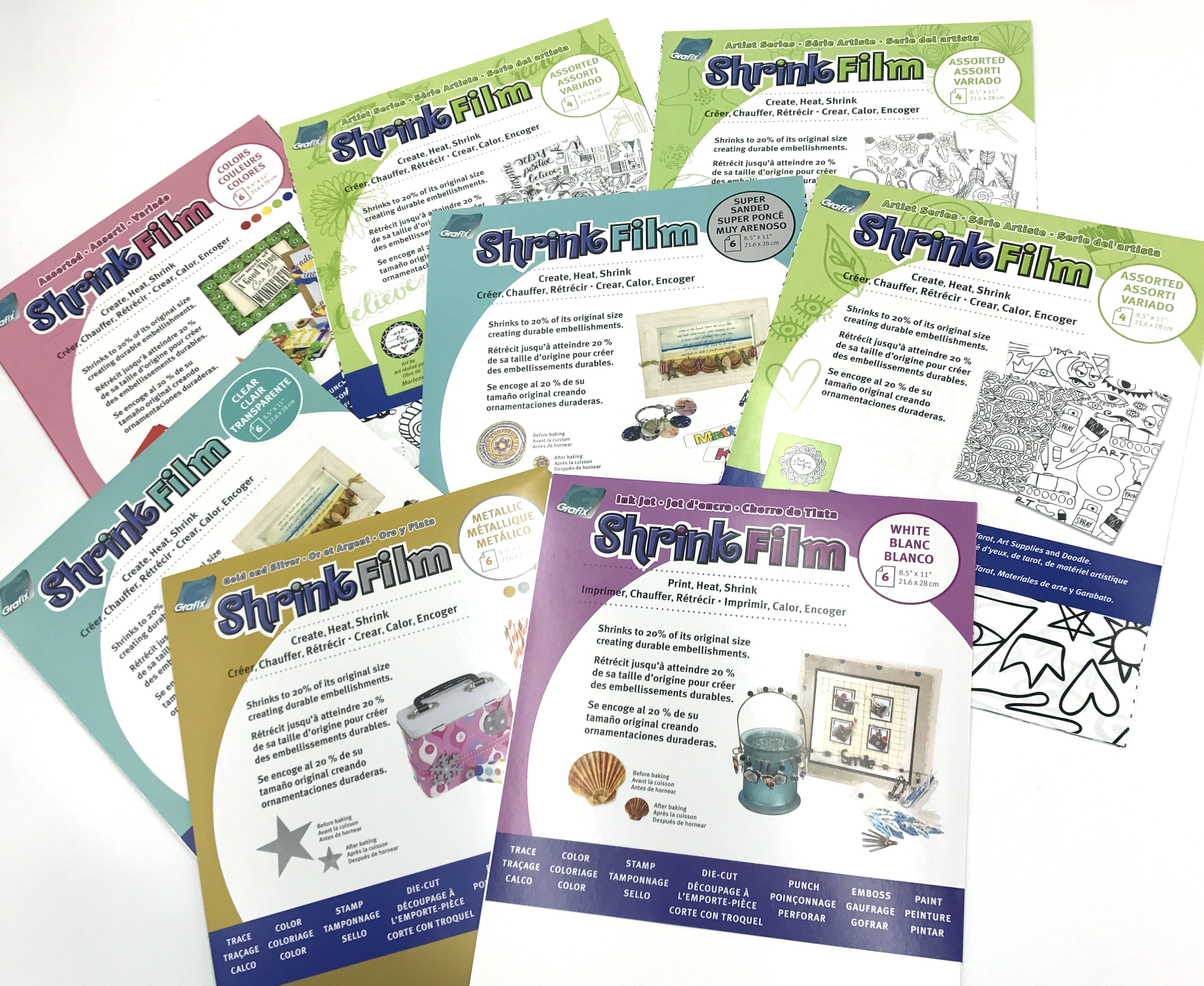 Grafix 12 Days of Giving Prize Package | Creative Scrapbooker Magazine