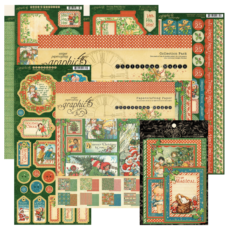 Graphic 45 12 Days of Giving Prize Packgae | Creative Scrapbooker Magazine