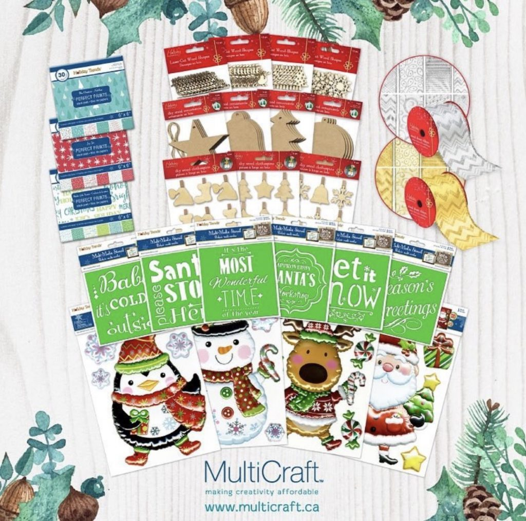 MultiCraft 12 Days of Giving Prize Package | Creative Scrapbooker Magazine