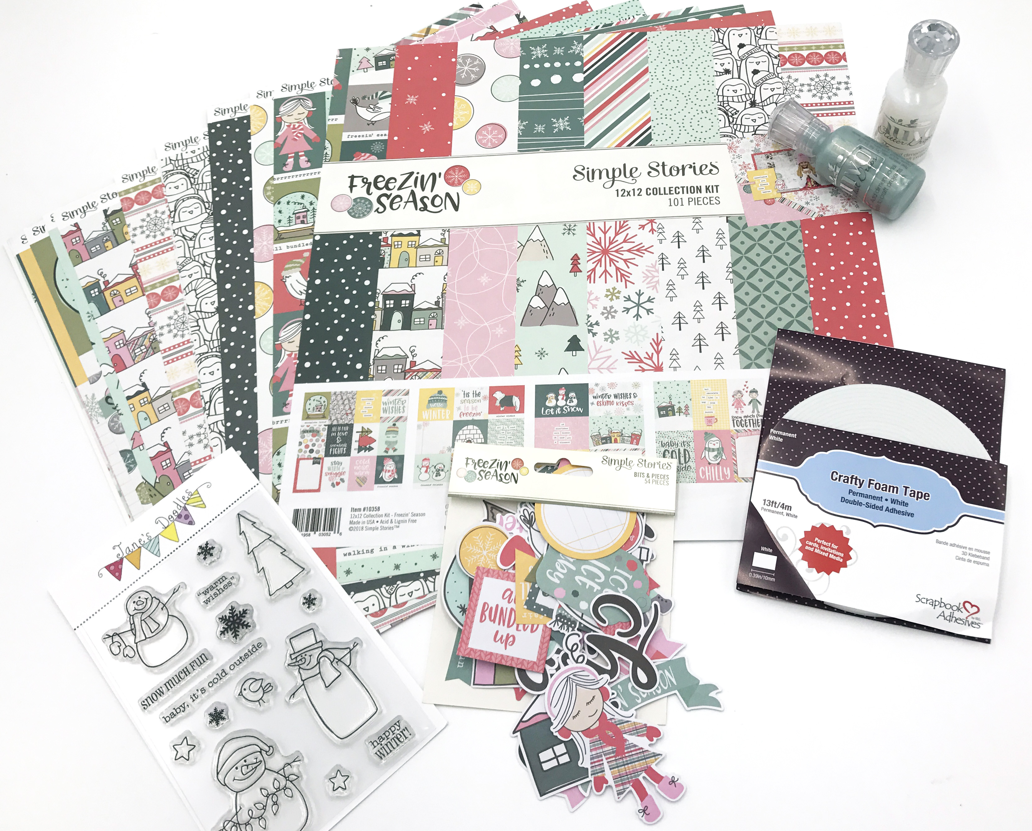 Ninabrook Paper Crafting 12 Days of Giving Prize Package | Creative Scrapbooker Magazine