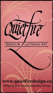 Quietfire Designs Logo | Creative Scrapbooker Magazine