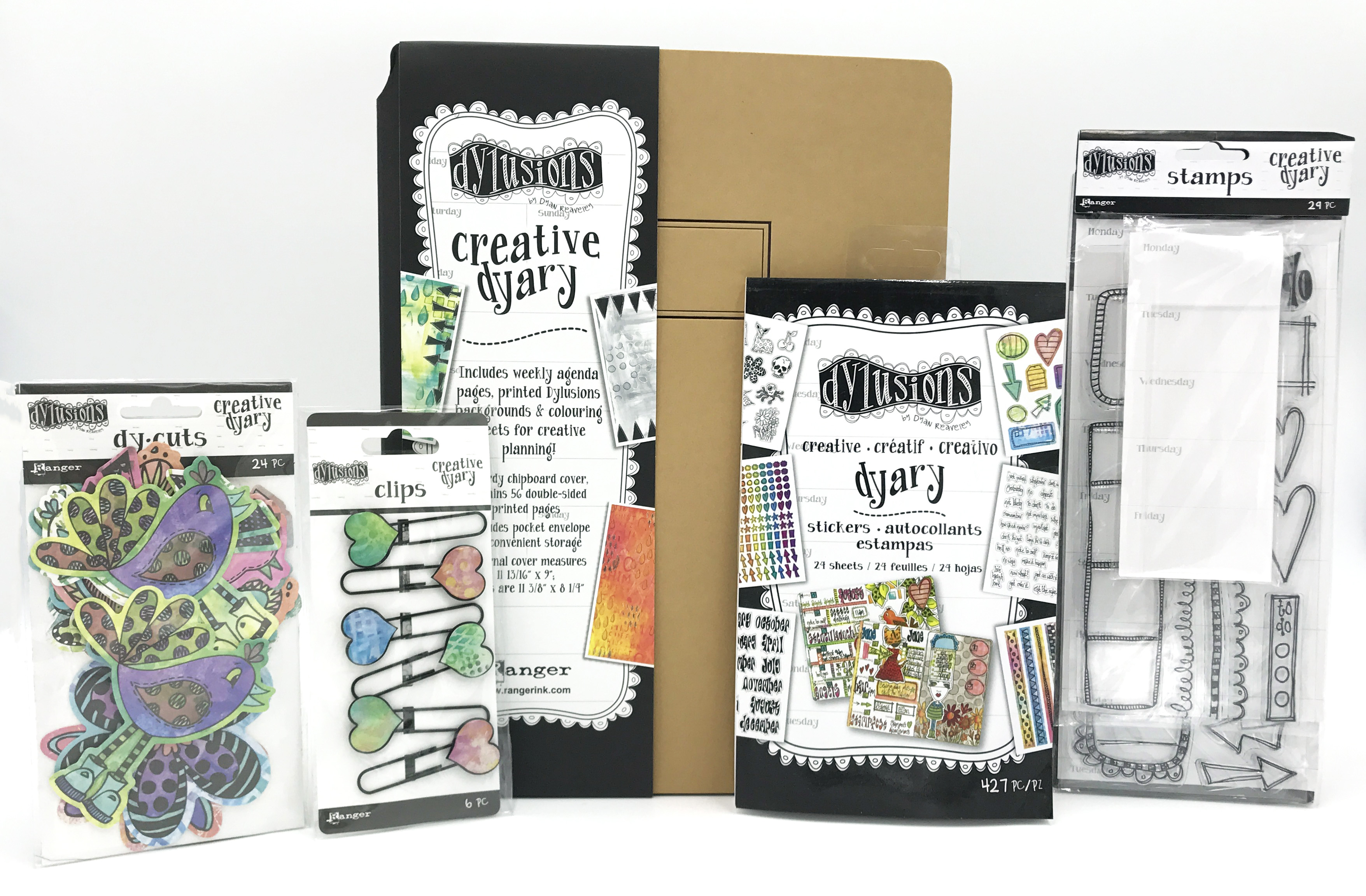 Ranger Dylusions 12 Days of Giving Prize Package | Creative Scrapbooker Magazine
