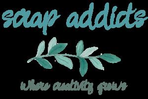 Scrap Addicts Logo | Creative Scrapbooker Magazine