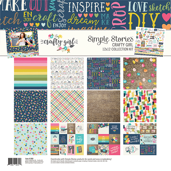 Simple Stories Crafty Girl Collection Kit