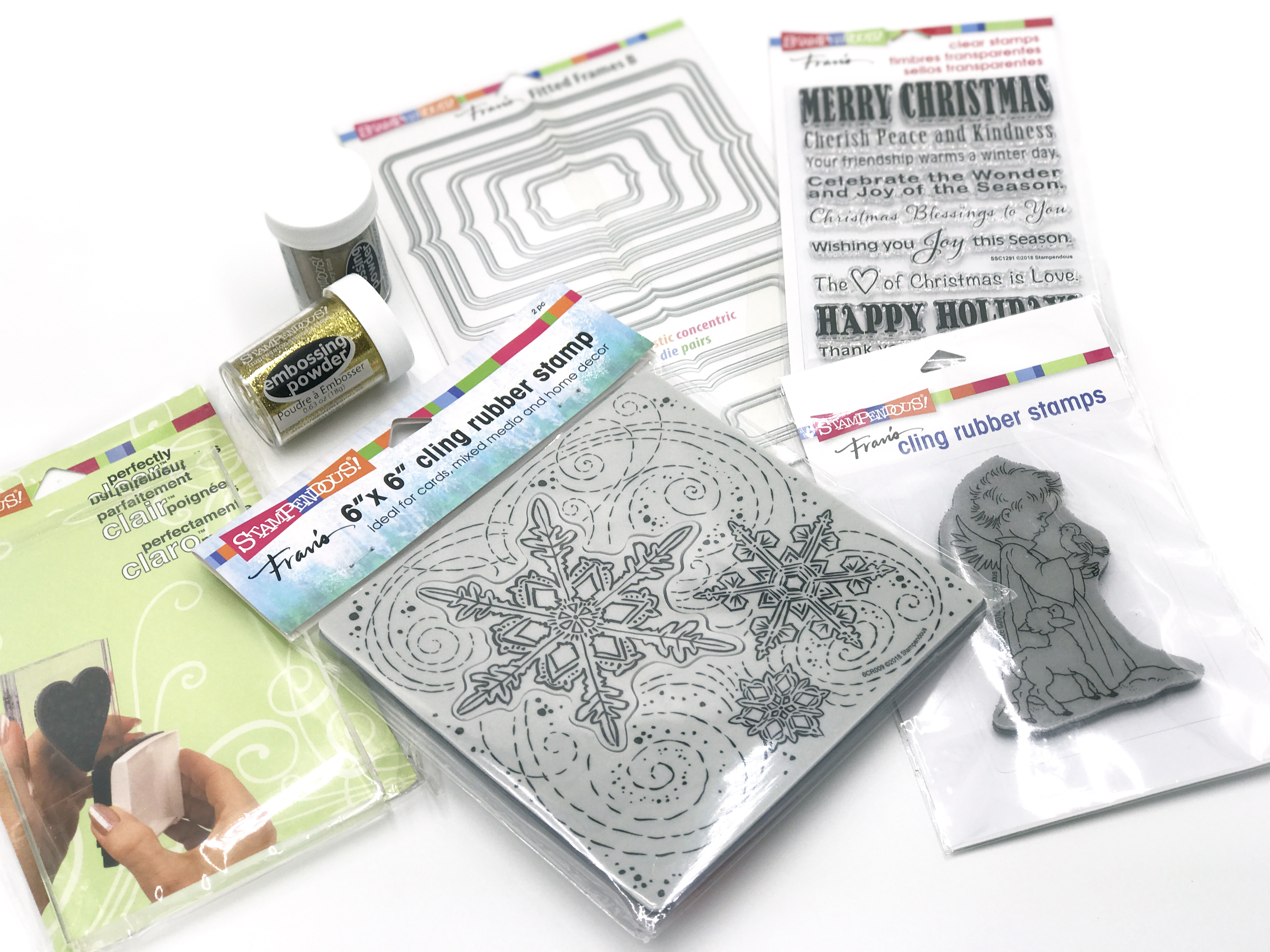 Stampendous 12 Days of Giving Prize Package | Creative Scrapbooker Magazine