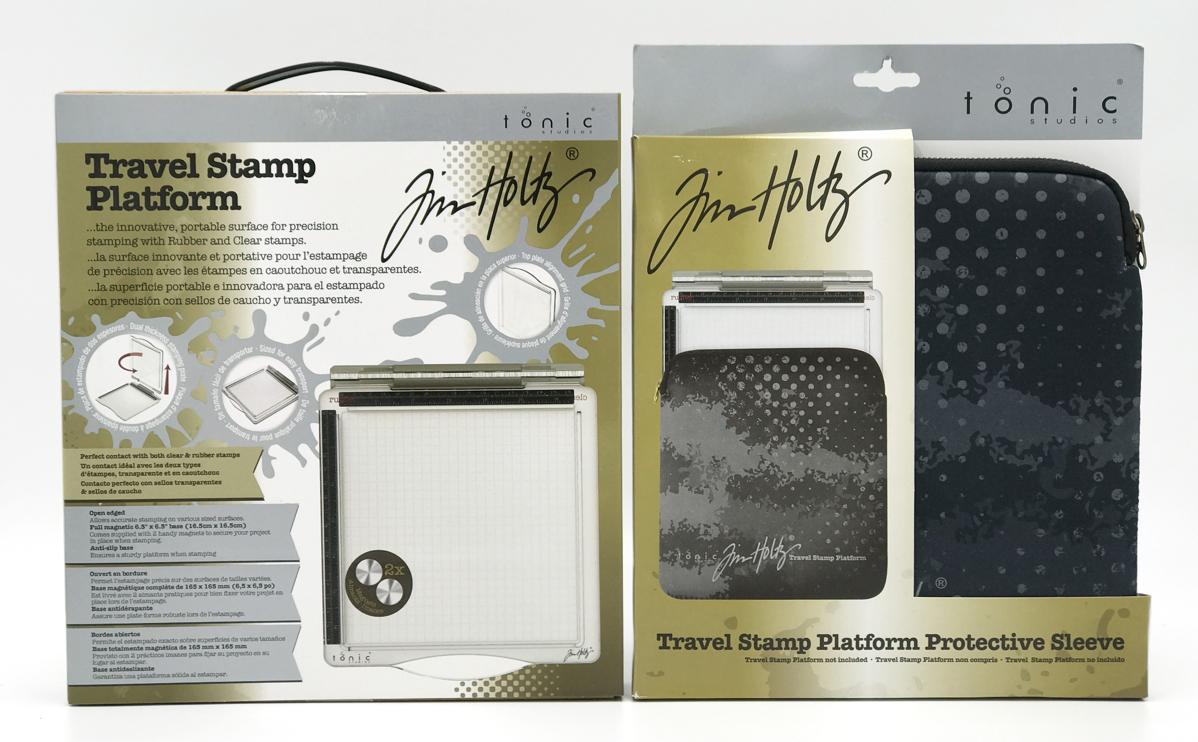 Tim Holtz Stamp Platform and Carrying Case Prize Package for 12 Days of Giving