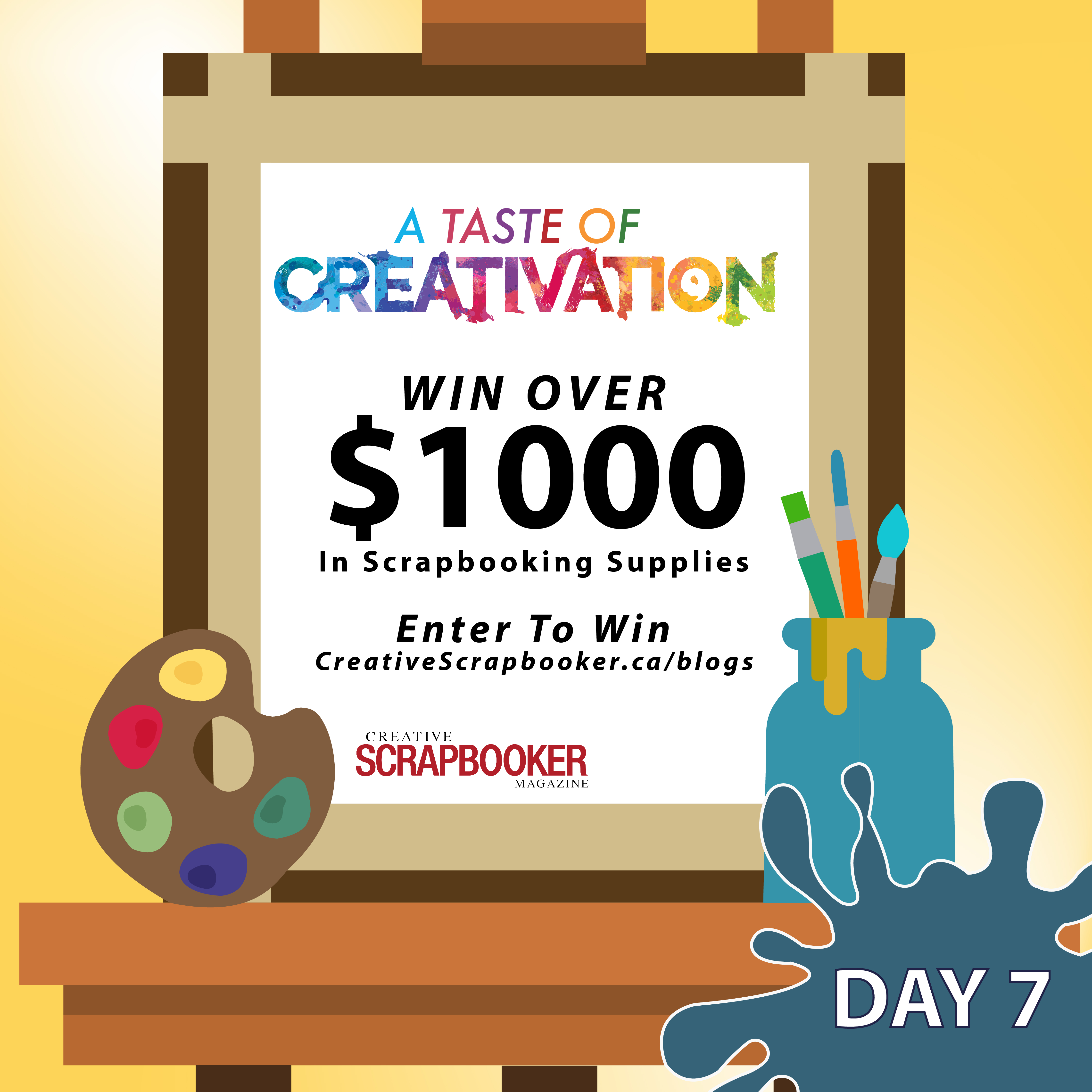 Creativation Giveaway Day #7 with Creative Scrapbooker Magazine