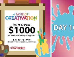 Day 10 Creativation Giveaway with Creative Scrapbooker Magazine