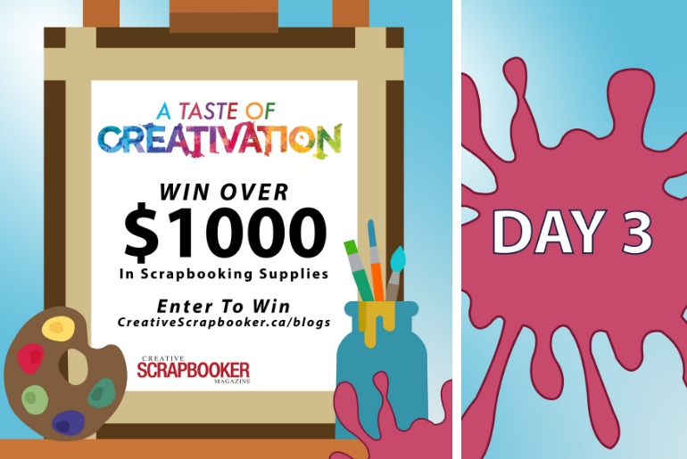 Day 3 Creativation Giveaway with Creative Scrapbooker Magazine