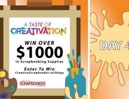 Day 4 Creativation Giveaway with Creative Scrapbooker Magazine