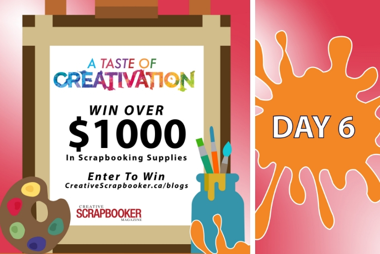Day 6 Creativation Giveaway with Creative Scrapbooker Magazine