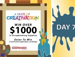 Day 7 Creativation Giveaway with Creative Scrapbooker Magazine