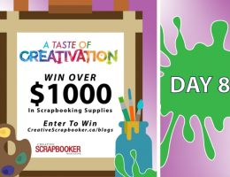 Day 8 Creativation Giveaway with Creative Scrapbooker Magazine