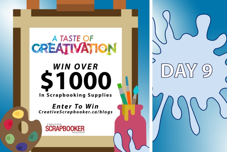 Day 9 Creativation Giveaway with Creative Scrapbooker Magazine