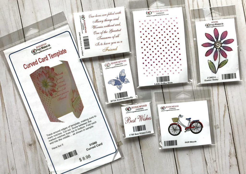 Frog's Whiskers Ink Prize Package for Creativation Giveaway with Creative Scrapbooker Magazine