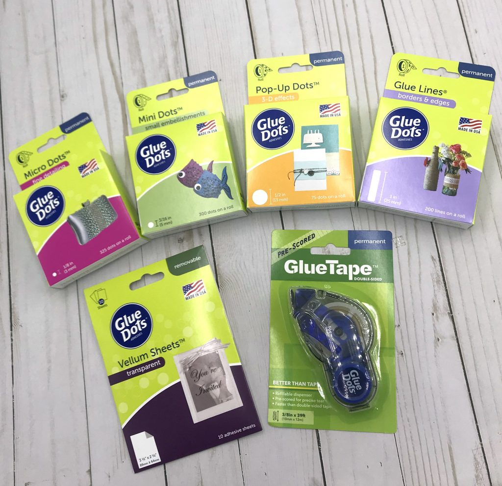 Glue Dots Prize Package for Creativation Giveaway with Creative Scrapbooker Magazine