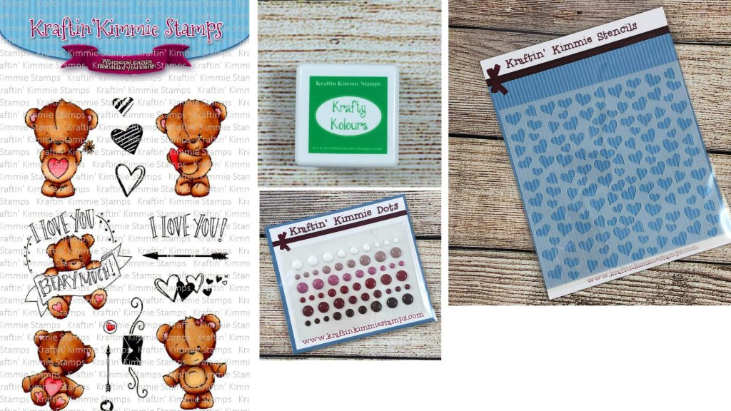 Kraftin' Kimmie Stamps Creativation Prize Package with Creative Scrapbooker Magazine
