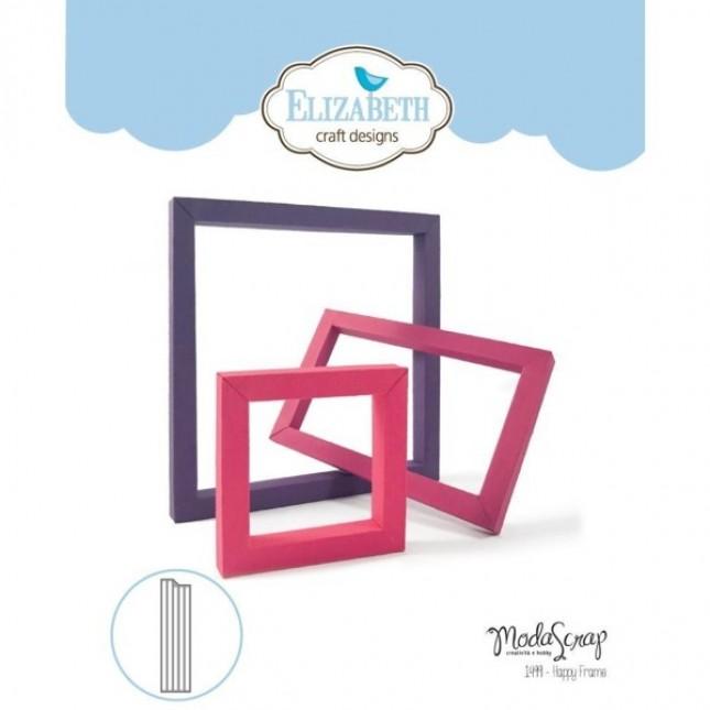 Happy Die Frame by Elizabeth Craft Designs