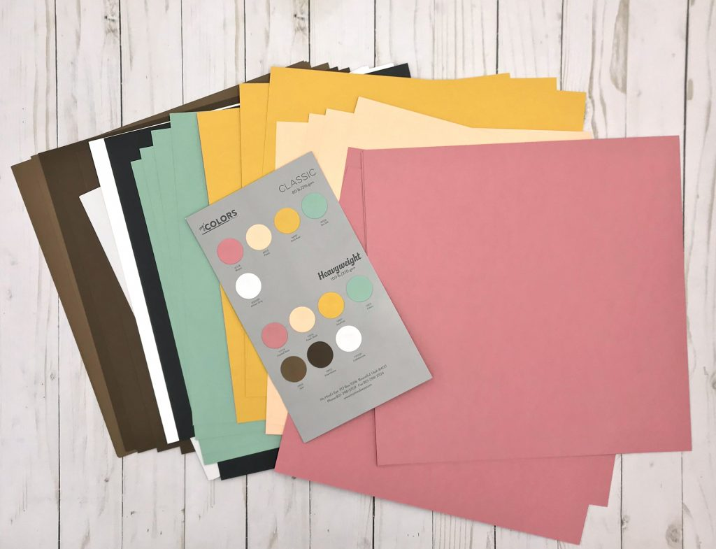 My Colors Cardstock Prize Package for Creativation Giveaway with Creative Scrapbooker Magazine