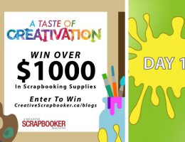 Day #1 Creativation Giveaway with Creative Scrapbooker Magazine