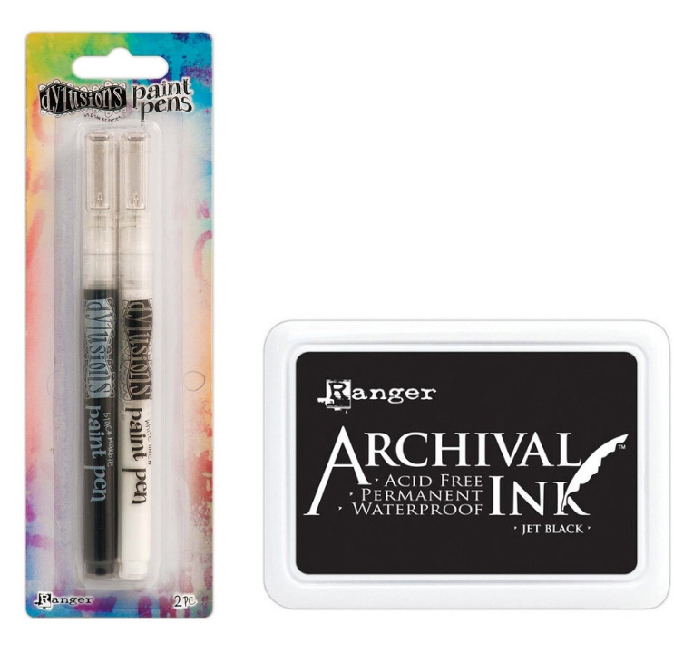 Ranger Dylusions Paint Pen and Archival Ink | Creative Scrapbooker Magazine