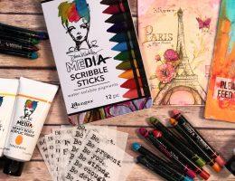 Top 3 Scribble Stick Techniques for Paper Crafting | Scrapbooking Video | Creative Scrapbooker Magazine