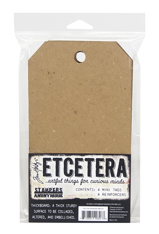 Stampers Anonymous Etcetera Tim Holtz Mini Tag