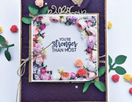 Sympathy Card designed by Cathy Caines featuring Stampin' Up! | Creative Scrapbooker Magazine