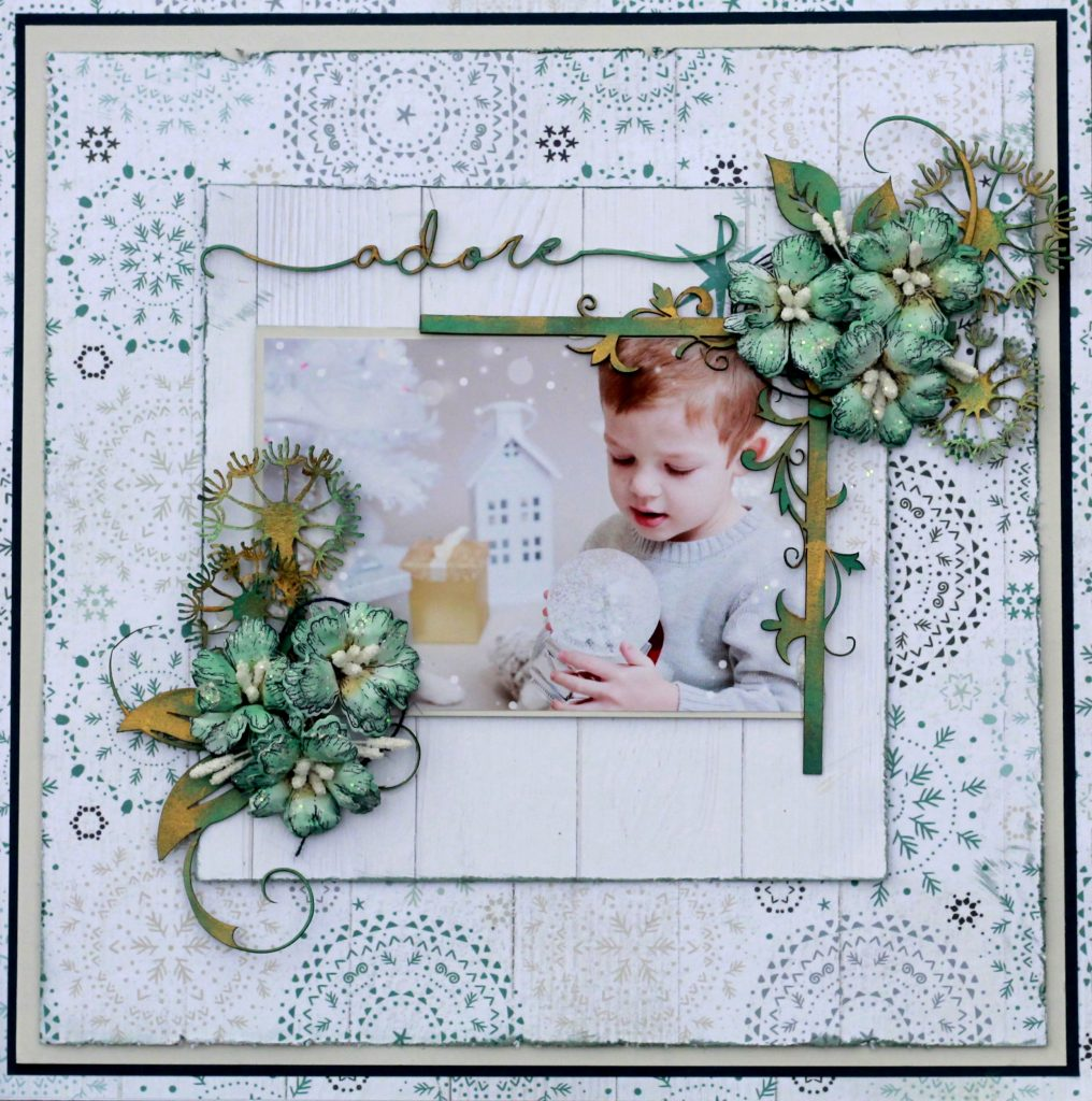 Scrapbook Layout featuring the Wonderland Collection by Kaisercraft designed by Karan Gerber | Creative Scrapbooker Magazine