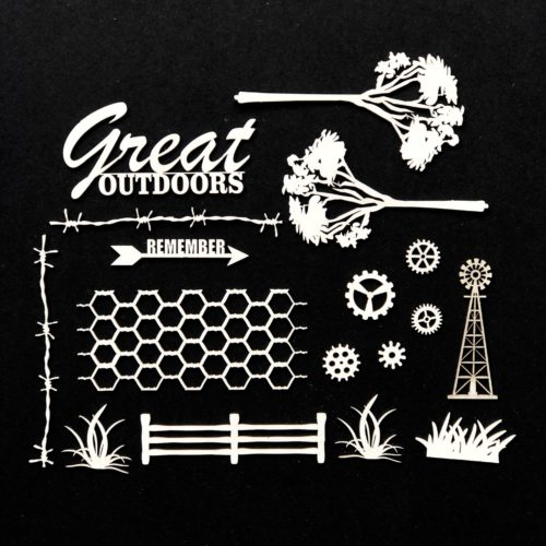 The Great Outdoor Chipboard Set by 40 and Market
