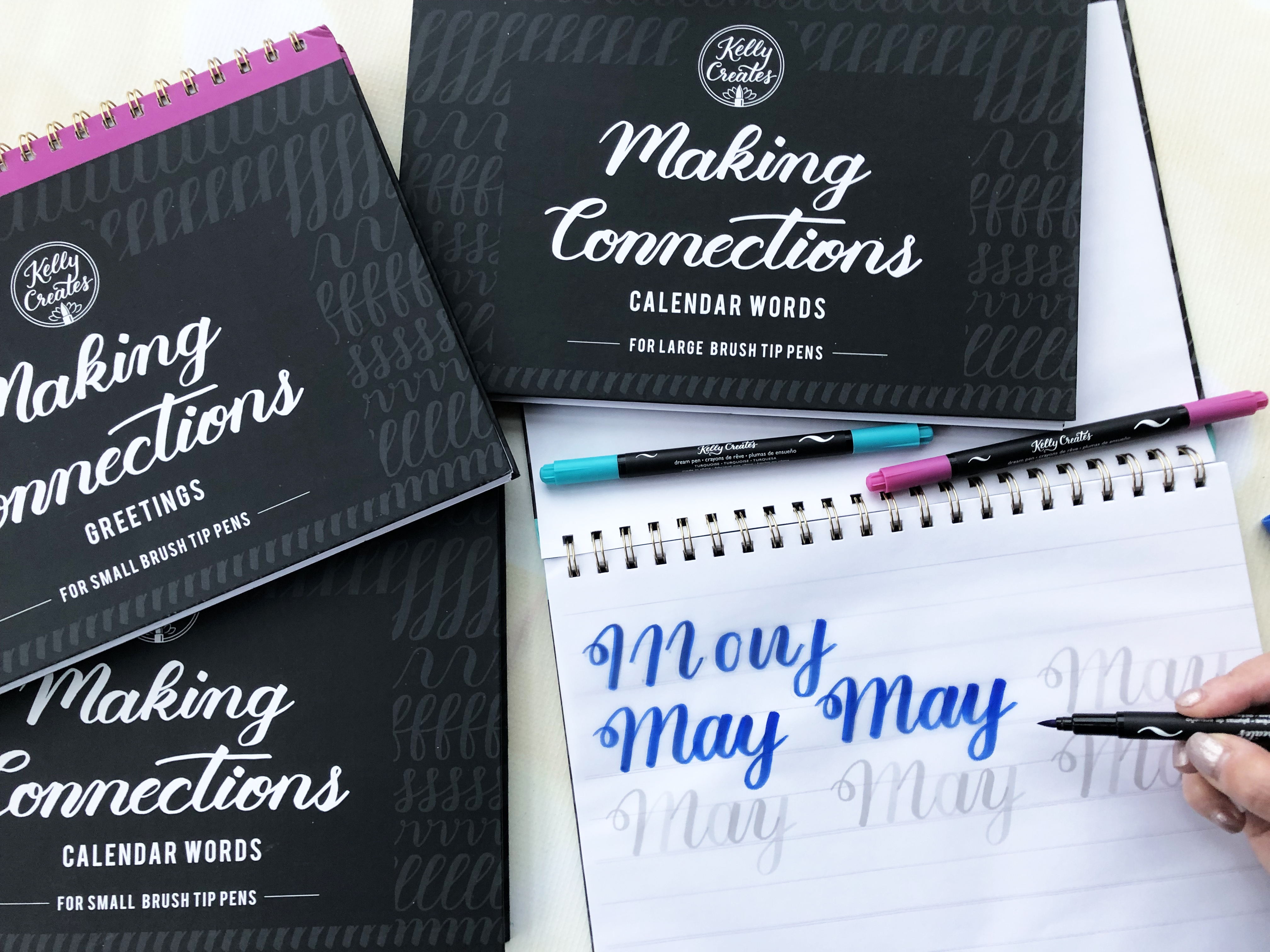 Kelly Creates Products for Hand Lettering