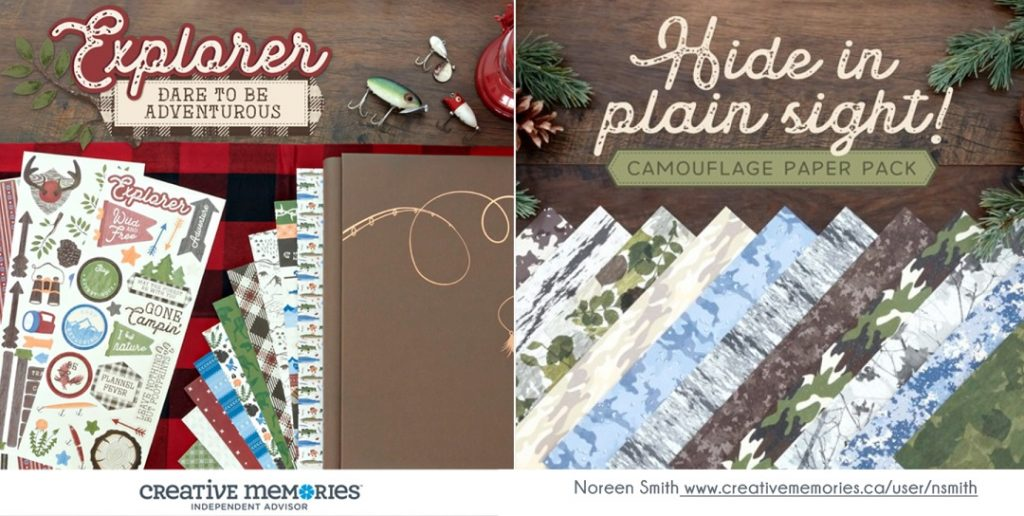 Explorer Collection for Scrapbooking by Creative Memories