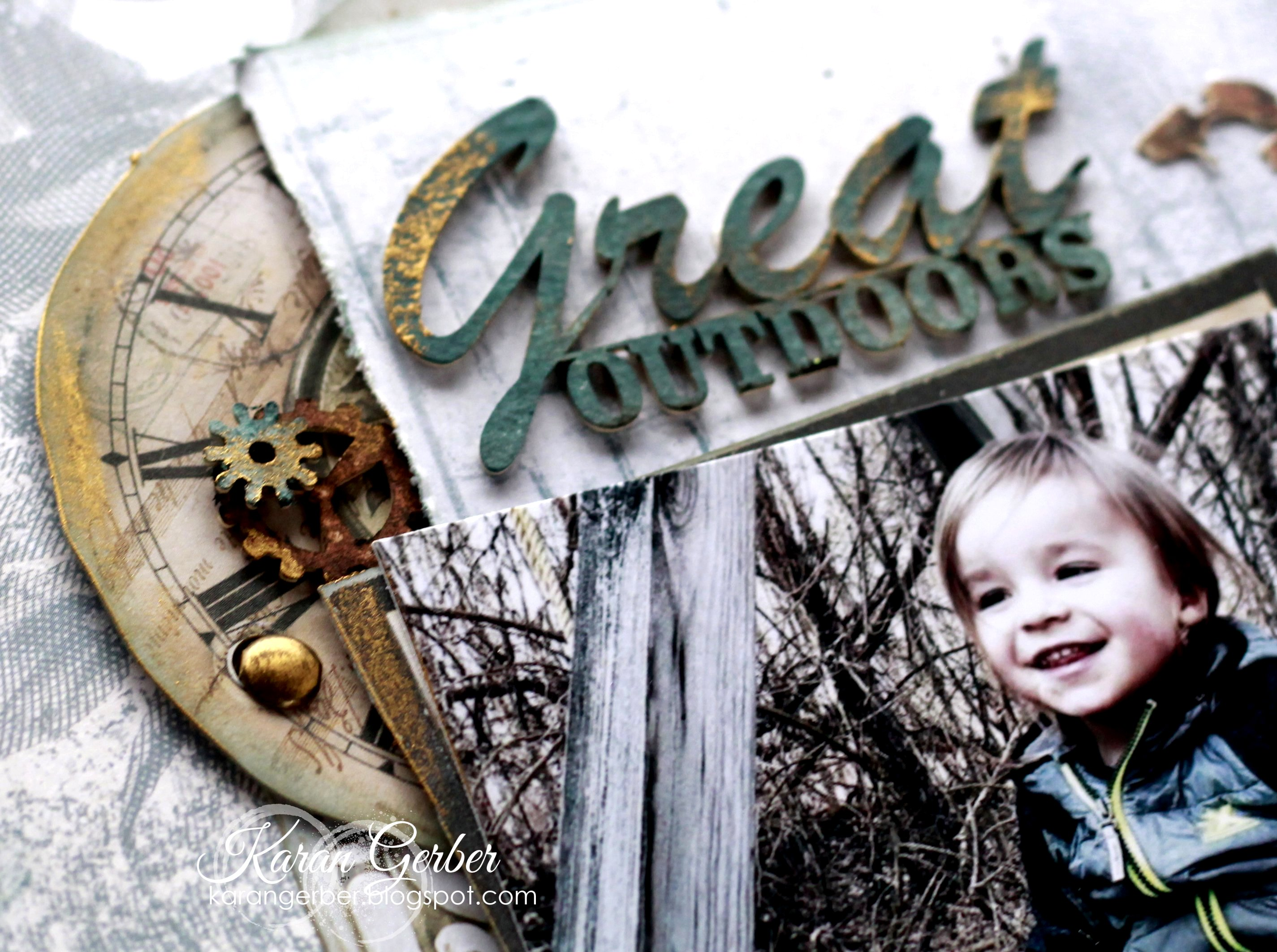 The Great Outdoors Chipboard by 49 and Market