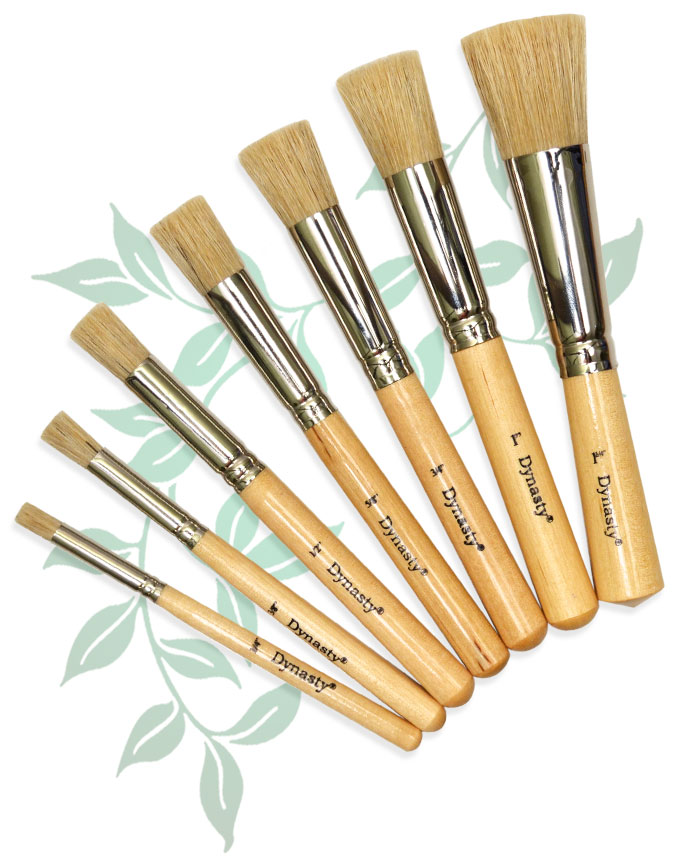 Dynasty Brush Stencil Brushes